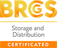 BRCGS - Storage and Distribution CERTIFICATED